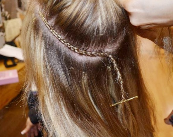 Виды наращивания волос - холодное наращивание