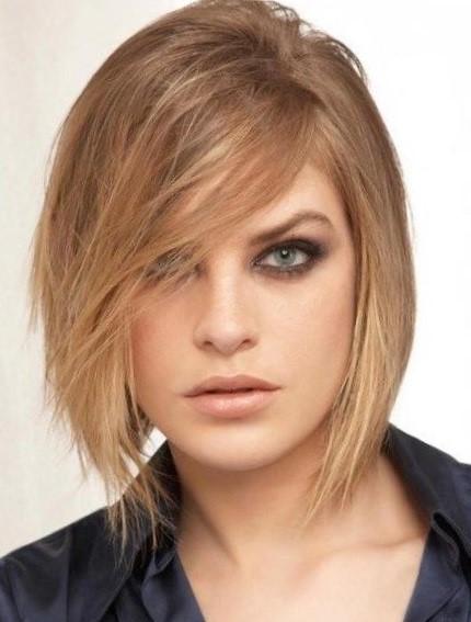Короткая стрижка на тонкие волосы не требующая укладки - каре