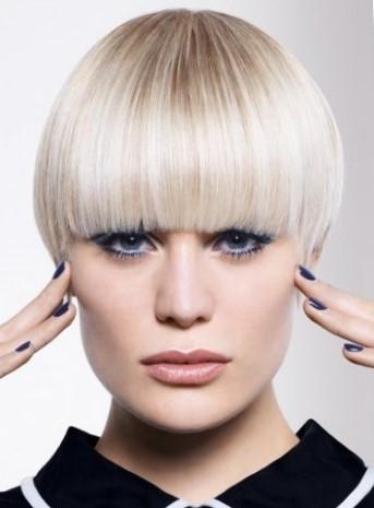 Короткая стрижка на тонкие волосы не требующая укладки - шапочка