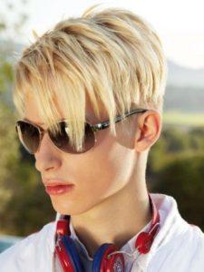 Шапочка - подростковая стрижка для мальчиков
