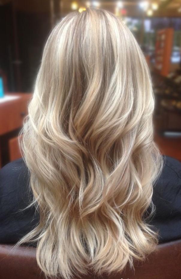 Акварельное окрашивание волос