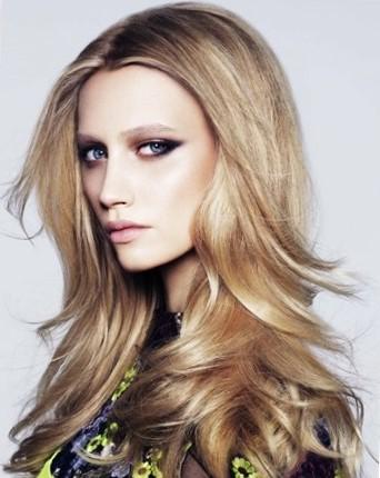 Стильные стрижки на длинные волосы для девушек