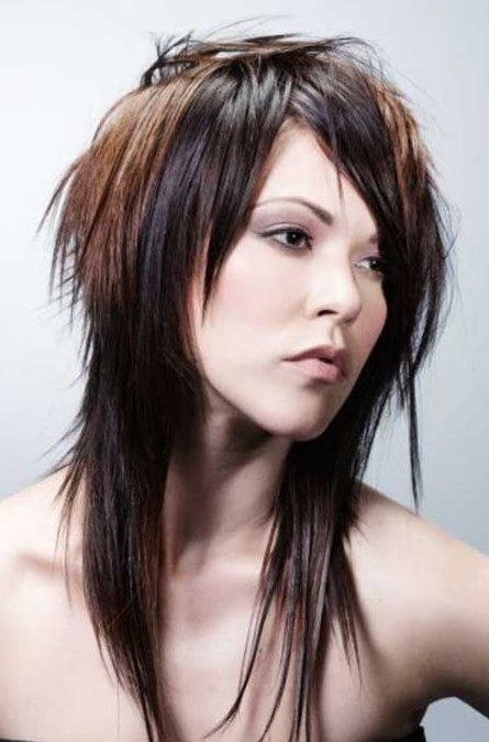 Стильные стрижки на длинные волосы для девушек итальянка