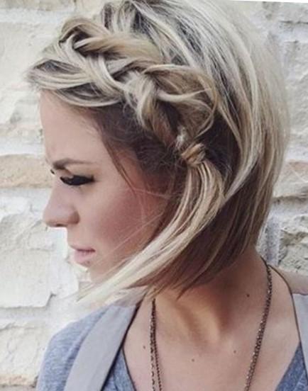 Красивая прическа для тонких волос