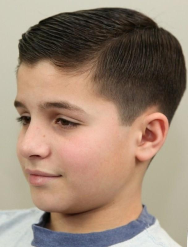 Стильные стрижки для мальчиков подростков