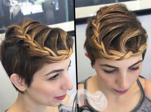 легкие прически на короткие волосы