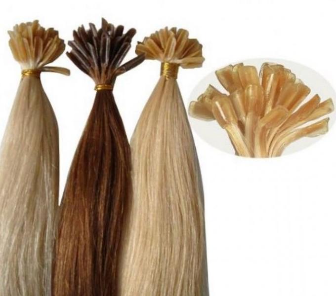 Славянские волосы на капсулах для наращивания волос