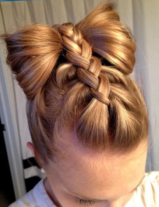 Фото красивые причёски для девочек 11 лет на