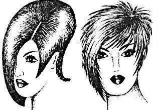 Женские короткие стрижки для кудрявых волос