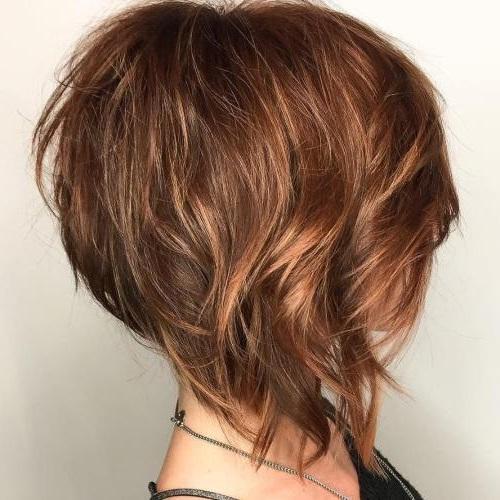 Стрижки на тонкие волосы средней длины - боб