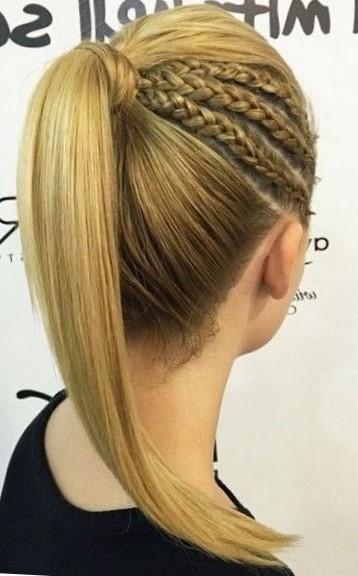 прически с косами на средние волосы с фото