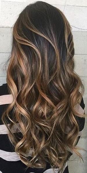 окрашивание балаяж на длинные волосы