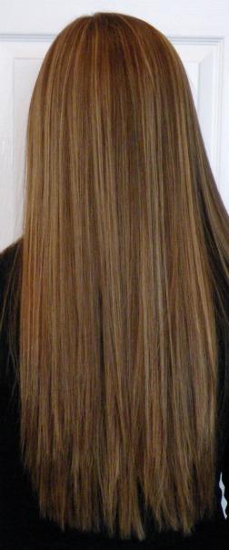 Красивое окрашивание волос 3д