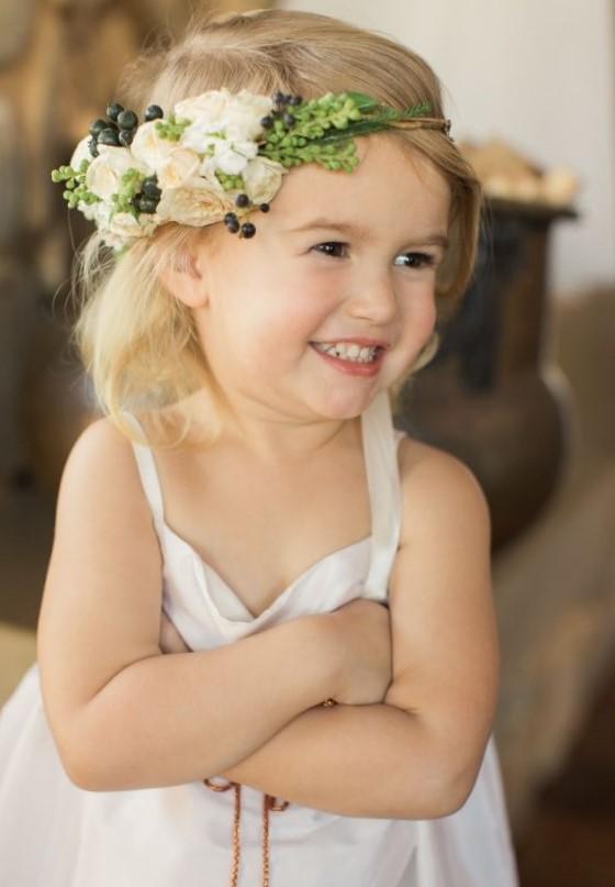 Красивые прически для девочек на свадьбу