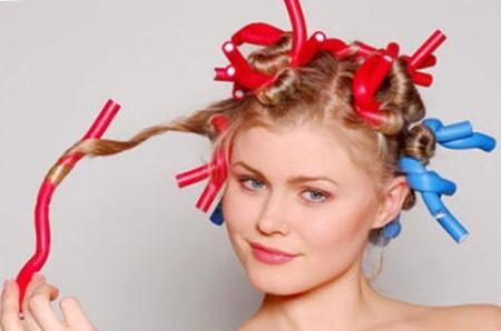 Бумеранги для завивки волос