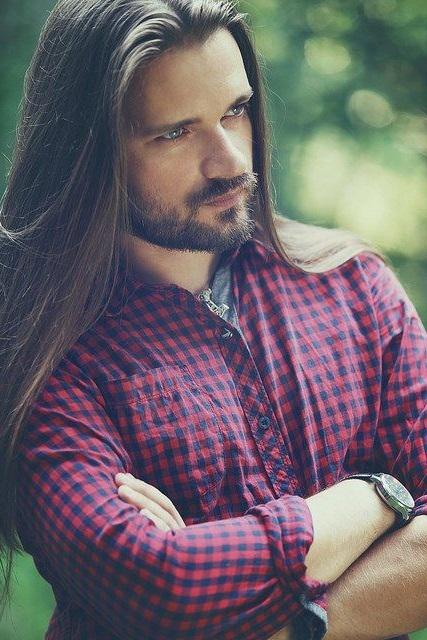 Виды мужских стрижек на длинные волосы