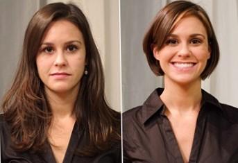 Стрижки на тонкие волосы средней длины - каре фото до и после