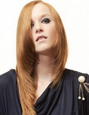 Асимметричные креативные стрижки на длинные волосы