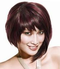 Стрижки на волосы до плеч асимметричные