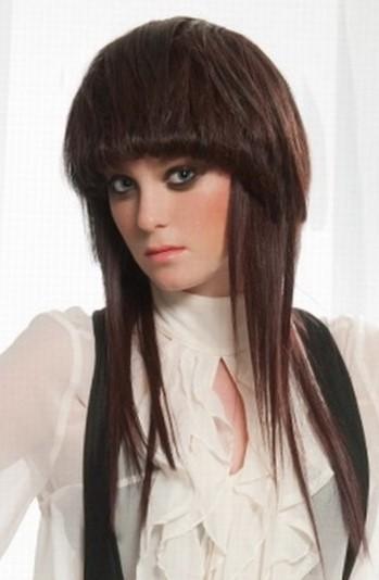 Креативные стрижки на длинные волосы с шапочкой