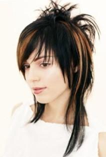 Креативные стрижки на длинные волосы  с короткой макушкой