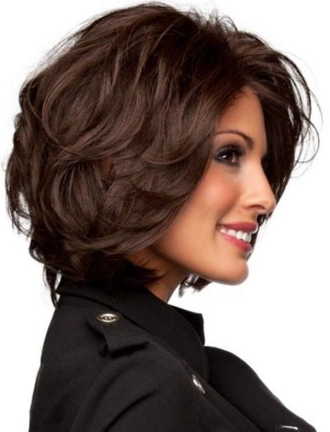 Стрижки для женщин после 40 лет на средние волосы