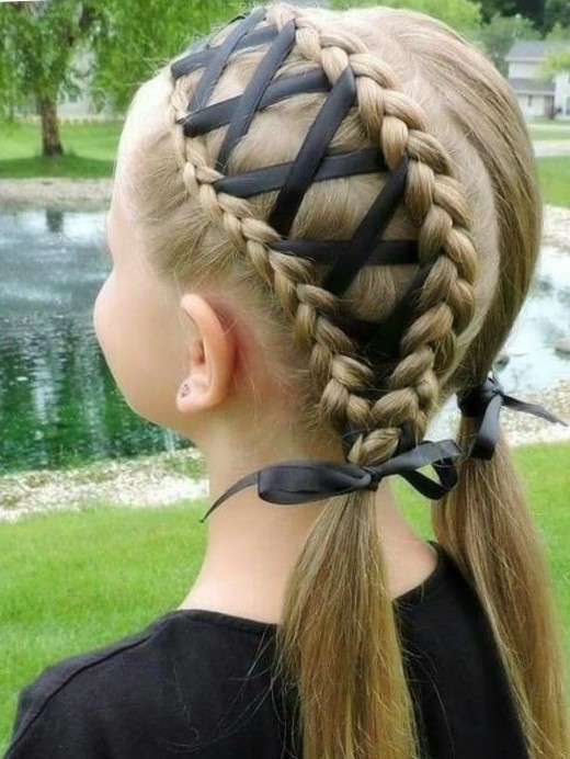 Плести косы девочке пошаговое фото