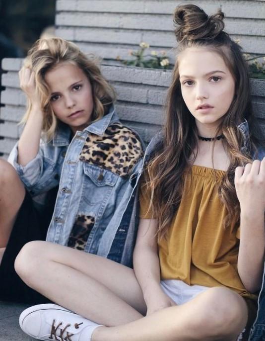 Модные прически для подростков девочек
