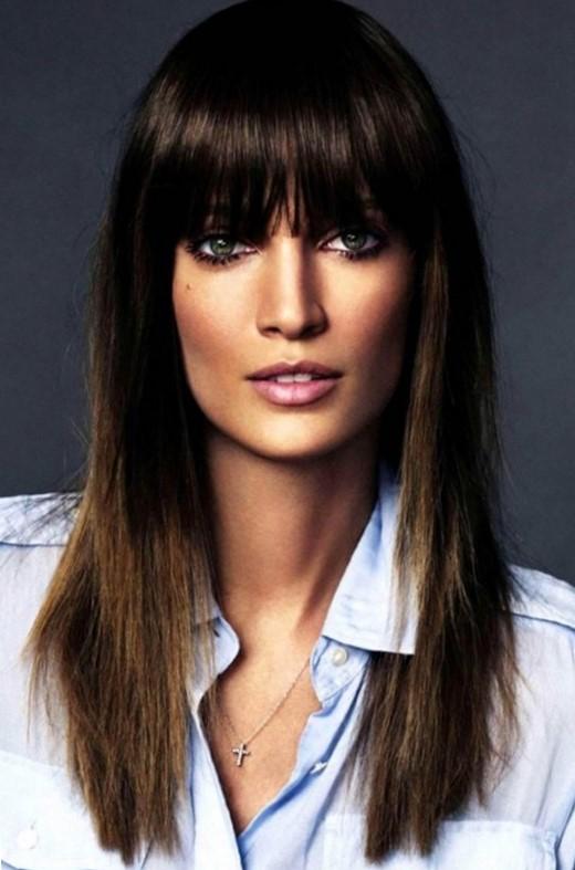 Стрижки для женщин после 40 лет на длинные волосы
