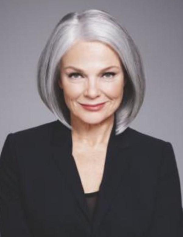 Стрижки для женщин после 60 лет на средние волосы