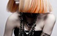 Яркие и креативные стрижки для средней длины волос