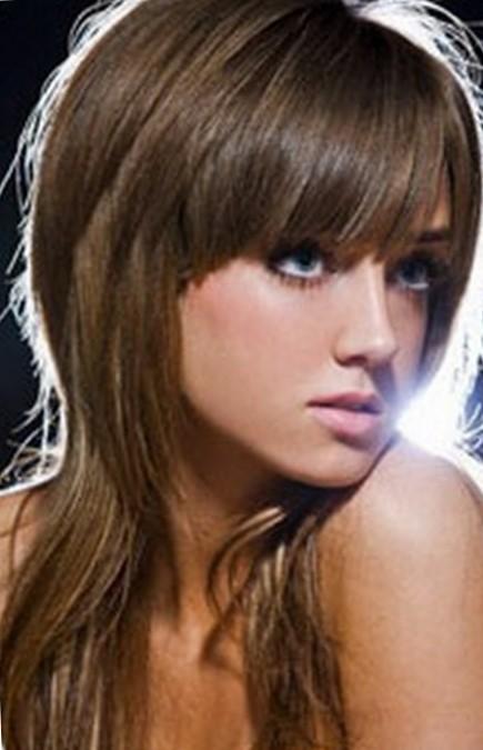 Женские стрижки с удлиненными волосами
