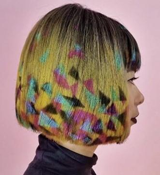 Креативные стрижки на средние волосы