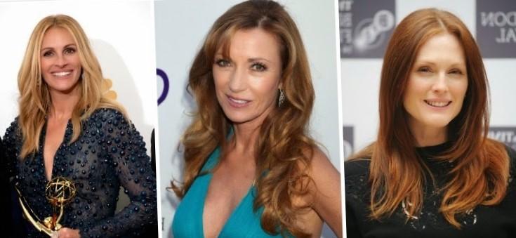 Стрижки для женщин после 50 лет на длинные волосы