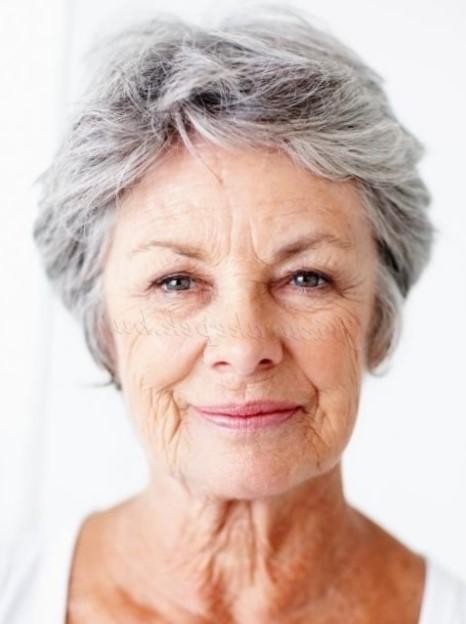 прически для пожилых фото