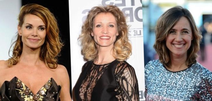 Стрижки для женщин после 50 лет на средние вьющиеся волосы