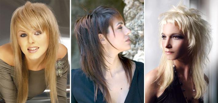 Как отделить челку от основных волос