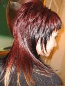 Стрижка шапочка на длинные волосы