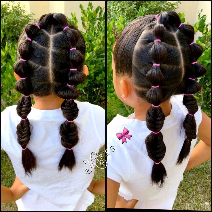 Самые простые прически для девочек короткие волосы