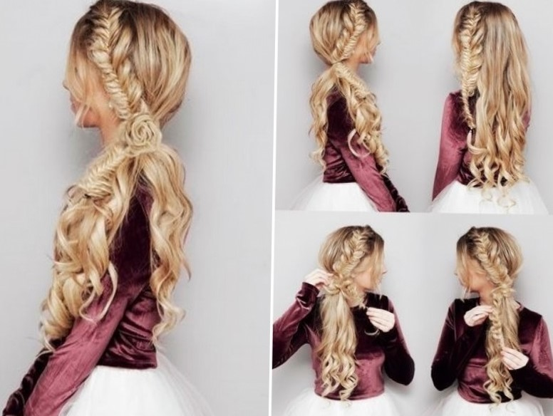 Как сделать укладку на средние волосы пошаговое 6