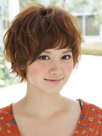 Короткие стрижки японок