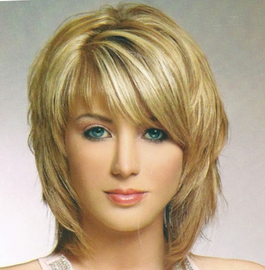 all new hair style стрижки с длинной челкой на средние волосы фото с косой 6563 | girls short layered cut hairstyle with bangs back pictures of short haircuts all hair style for womens