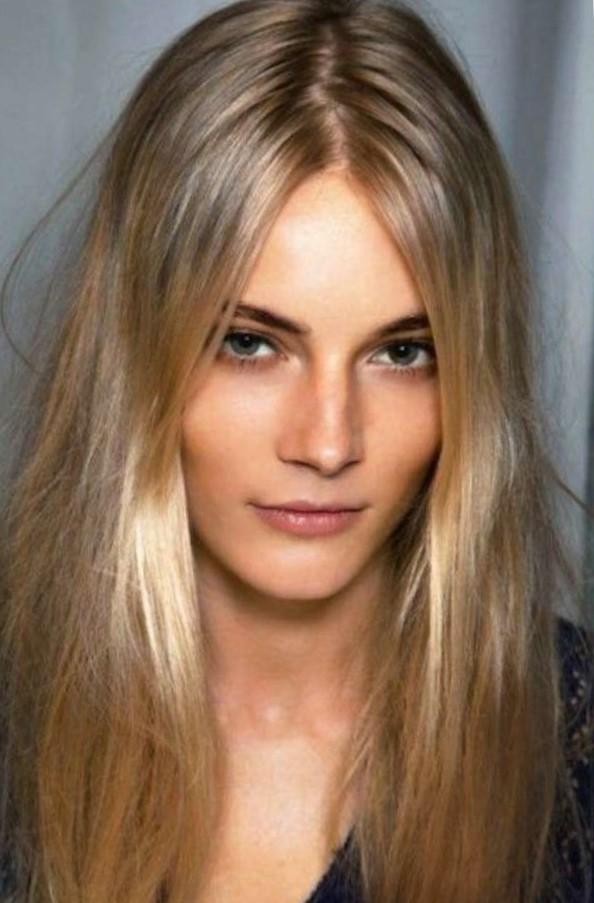 Окрашивание шатуш на светлые волосы
