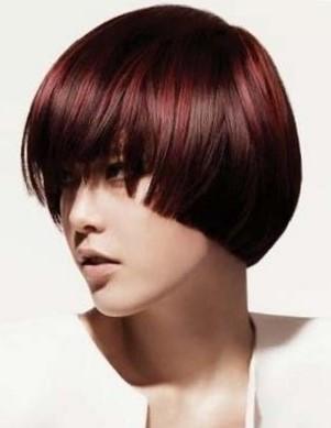 стрижка шапочка на короткие волосы