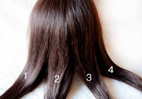 Пошаговая схема плетения косы из 4 прядей - прически с четырехпрядными косами