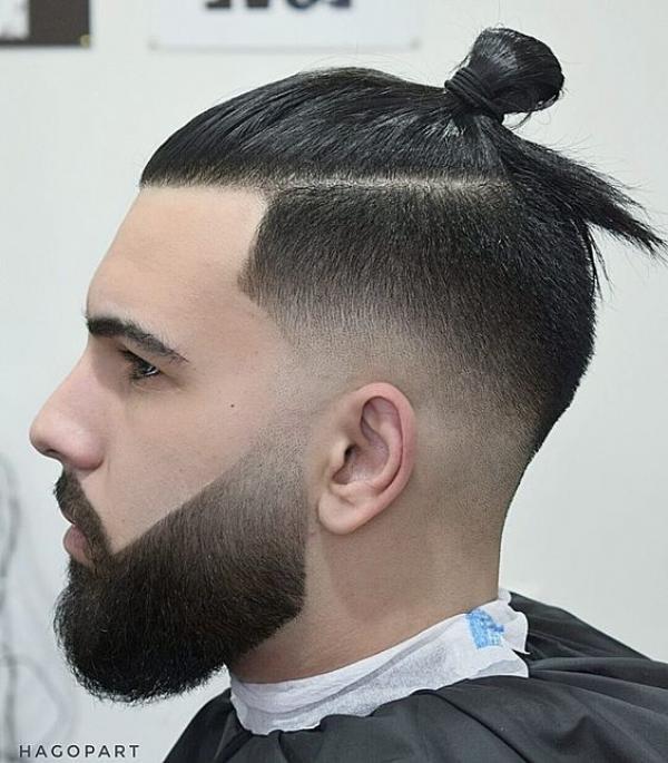мужские прически с длинными волосами