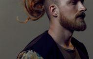 Популярные мужские прически для длинных волос 2018