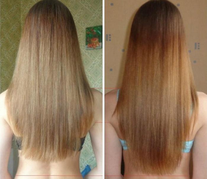 Маска для волос для роста волос с корицей