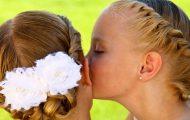 Идеи красивых причесок в школу для девочек — укладки за 5 минут