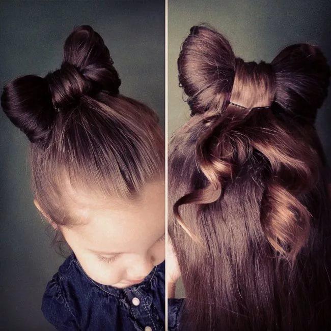 Разнообразные прически на длинные волосы для девочек